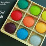 Набор Бали. Пуговицы цветные для хендмейд. крафт
