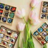 Пуговицы с принтами, картинками, фото от goodzyky.com