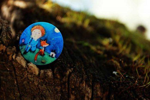 Маленький принц на пуговицах. Художник: Светлана Соловьева.