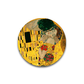 Климт, Поцелуй - украшения с карттинами художников.