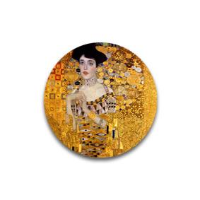 Адели - броши и пуговицы с картинами Климта