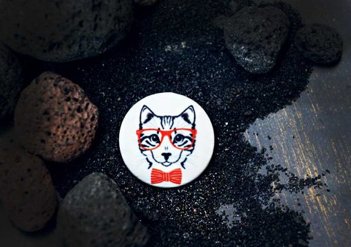 Пуговицы Cat с принтами от магазина goodzyky.com, Киев