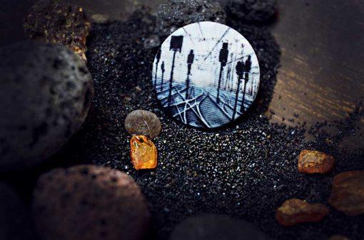 Пуговицы Dream.6. - арт-Пуговицы с принтами на ткани для одежды, декора, пальто, пиджака. Магазин пуговиц GOODzyky.