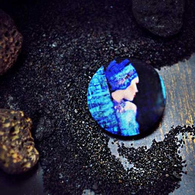 In Blue - пуговицы для одежды, пальто, пиджака, сумок, декорапить можно в магазине пуговиц GOODzyky. Ку