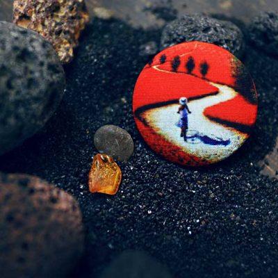 Пуговицы ТОСКАНА- магазин пуговиц с принтами. Коллекция АРТ-пуговиц от GOODzyky.com
