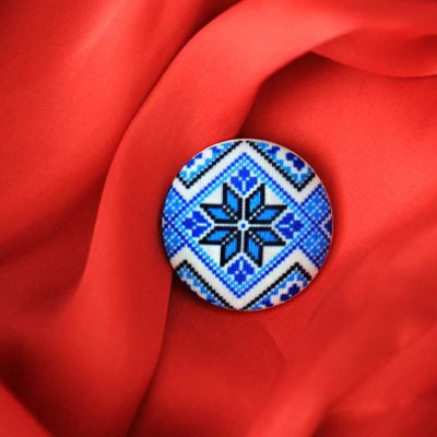 Пуговицы Pattern 1 - Арт пуговицы с принтами на ткани. Магазин пуговиц GOODzyky.