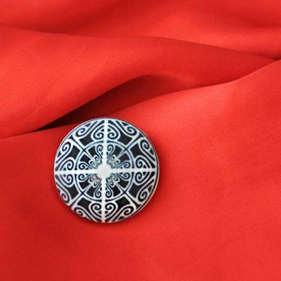 Пуговицы с орнаментом MANDALA - магазин пуговиц GOODzyky.com, Киев, 068 704 06 23