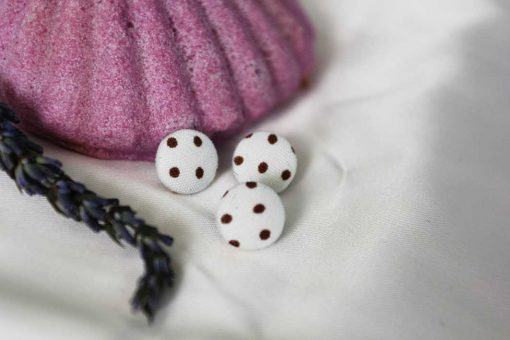 Пуговицы тканевые РЕТРО детские, рубашечные маленькие 11.4 мм. Обтяжка пуговиц тканью в мастеской GOODzyky.