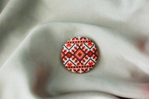 Пуговицы с украинским орнаментом Pattern 5 и другие пуговицы - красивый подарок с АРТом