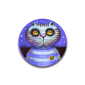 Cat Sailor - броши и пуговицы. Художник: Павел Кульша
