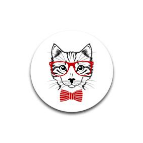 Cat - пуговицы и броши с картинами. художников