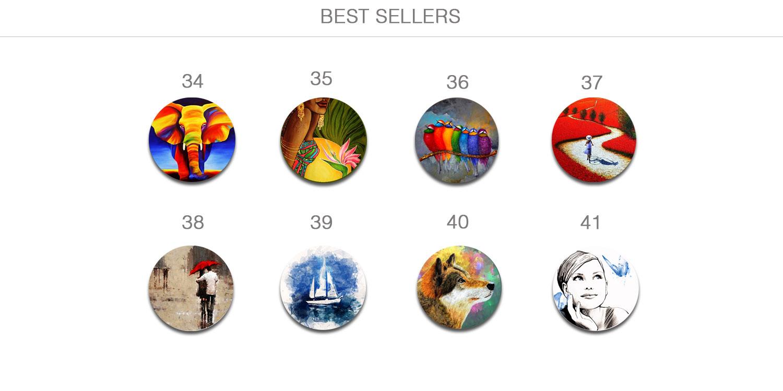 Броши и пуговицы - топ продаж. Авторские украшения ручной работы.